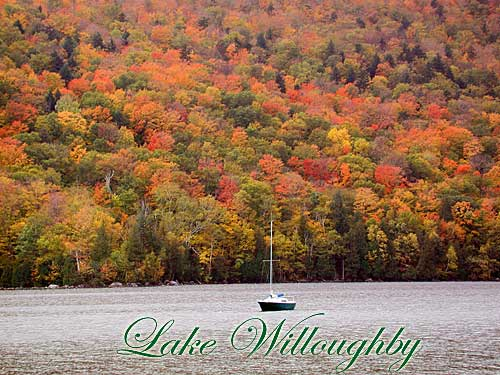 Lake Willoughby in the Northeast Kingdom